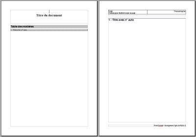Texte mod le - Numerotation des pages sur open office ...