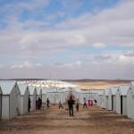 Jordanie camp de réfugés syriens à Azraq