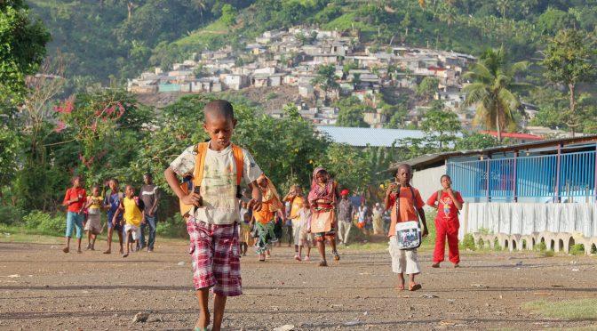 La jeunesse a Mayotte