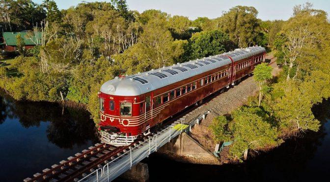 Le Red Tattler, premier train 100% solaire !
