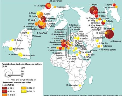 Ville globale et monde multipolaire