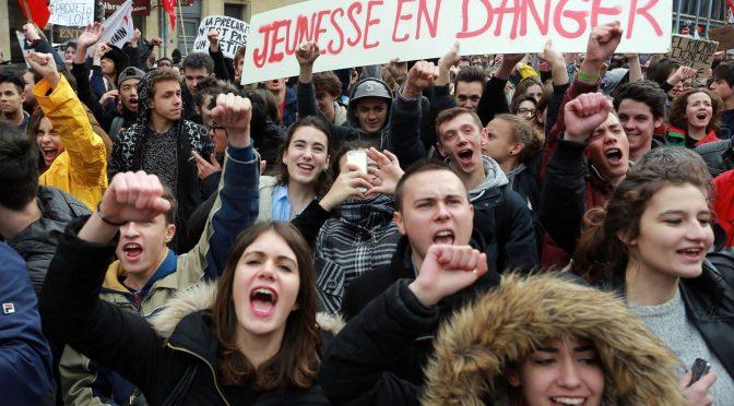 La jeunesse française frustrée de ne pas avoir sa place