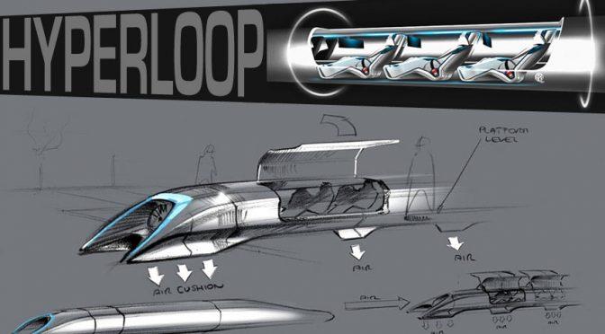 HYPERLOOP, le train du futur