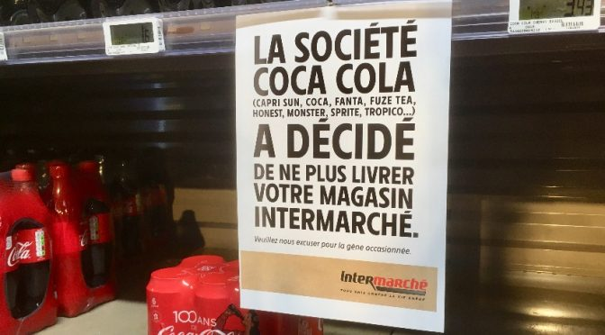 La solidarité contre Coca-Cola